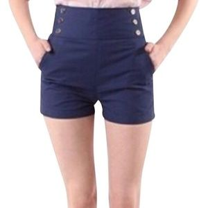 Lucca Couture High Waisted Sailor Shorts from UO